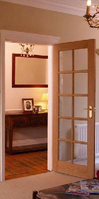 10 Light Oak Glazed Internal Door