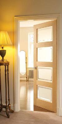 Glazed interior doors uk indiepedia 4 panel oak shaker glazed internal door planetlyrics Images
