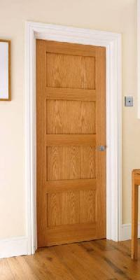 4 Panel Oak Shaker Interior Door
