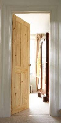4 Panel Knotty Pine Internal Door