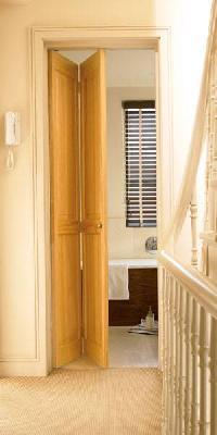 4 Panel Clear Pine Bi-Fold Internal Door