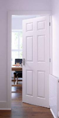 Moulded 6 Panel Smooth Internal Door