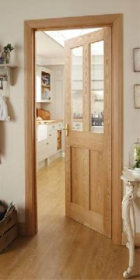 Burford 4 Panel Oak Glazed