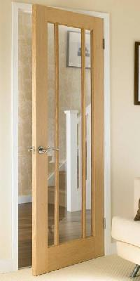 Worcester Oak Glazed Interior Door