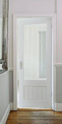 Dordogne Glazed Primed Internal Door