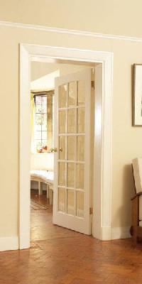 SA Swept Head Glazed Internal Door